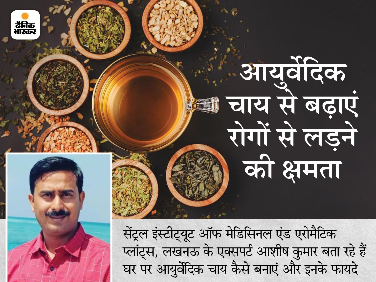 तुलसी की चाय सर्दी, खांसी-जुकाम से राहत देगी, संक्रमण घटाने के लिए पीएं अश्वगंधा की चाय; जानिए रोगों से लड़ने की क्षमता बढ़ाने वाली 4 चाय लाइफ & साइंस,Happy Life - Dainik Bhaskar