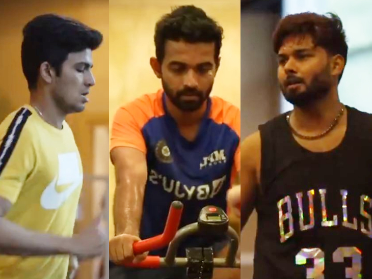 बायो-बबल में जमकर पसीना बहा रहे इशांत, शमी और पंत; BCCI ने वीडियो शेयर किया, कहा- समय के साथ हम और मजबूत हो रहे क्रिकेट,Cricket - Dainik Bhaskar