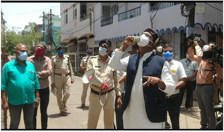 विश्वास सारंग ने जनता से की अपील- भोपाल को अनलॉक करने के लिए कोरोना कर्फ्यू का पालन करें, संक्रमित होम आइसोलेशन में रहें|भोपाल,Bhopal - Dainik Bhaskar
