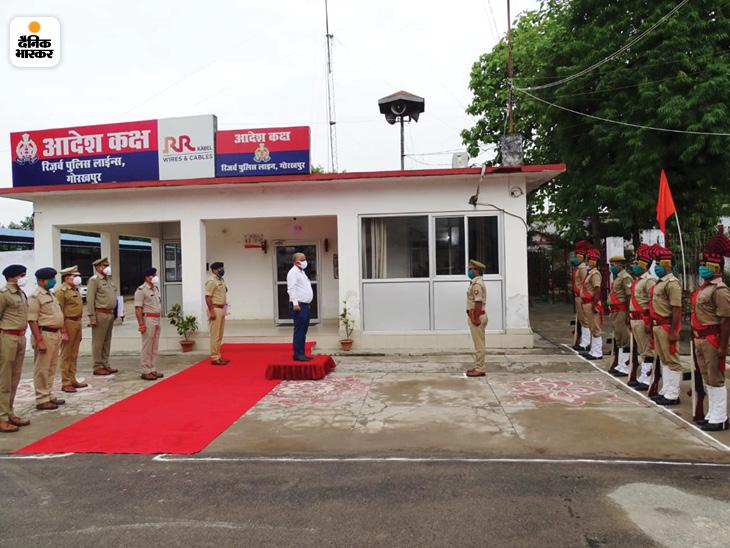गोरखपुर पहुंचे एसीएस होम अवनीश अवस्थी, पुलिस लाइन का किया निरीक्षण, बैठक कर अधिकारी से पूछी कार्रवाई की प्रगति|गोरखपुर,Gorakhpur - Dainik Bhaskar