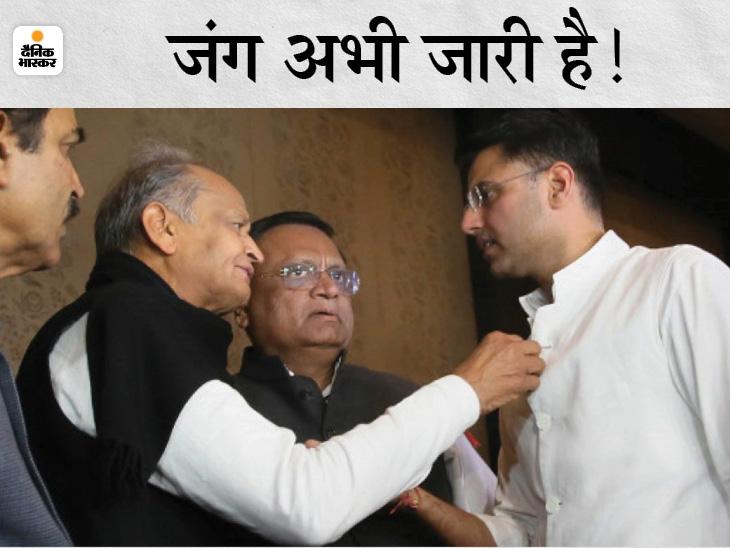 16 जुलाई 2020 से किसी भी जिले में न जिलाध्यक्ष और न ब्लाक अध्यक्ष; गहलोत-पायलट की खींचतान के कारण राज्य में खड़ा नहीं हो पा रहा संगठन|जयपुर,Jaipur - Dainik Bhaskar