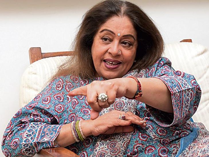 तेजी से रिकवर हो रहीं 68 साल की एक्ट्रेस और भाजपा सांसद किरण खेर, कोकिलाबेन अस्पताल में हुई उनकी बोन सर्जरी|बॉलीवुड,Bollywood - Dainik Bhaskar