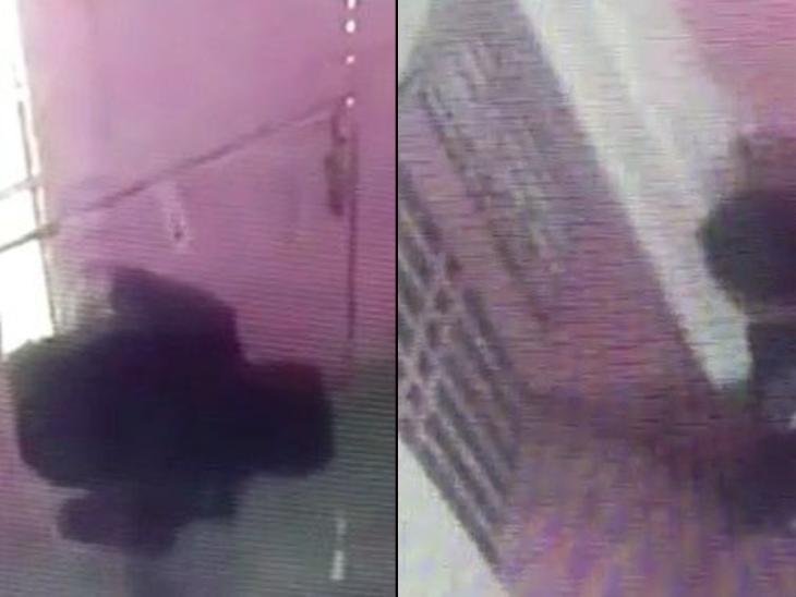 मथुरा में रात भर चोरी की घटनाओं को अंजाम देता रहा चोर, CCTV में कैद पूरी वारदात|मथुरा,Mathura - Dainik Bhaskar