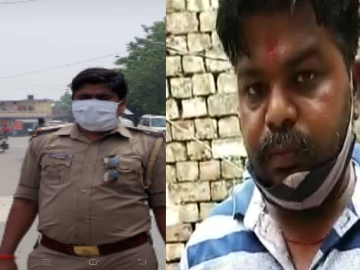 गोरखपुर में दारोगा ने व्यापारी को थाने में बंद करके बेल्ट से पीटा था, एसएसपी ने निलंबित कर दिया; 2 सिपाही भी सस्पेंड|गोरखपुर,Gorakhpur - Dainik Bhaskar