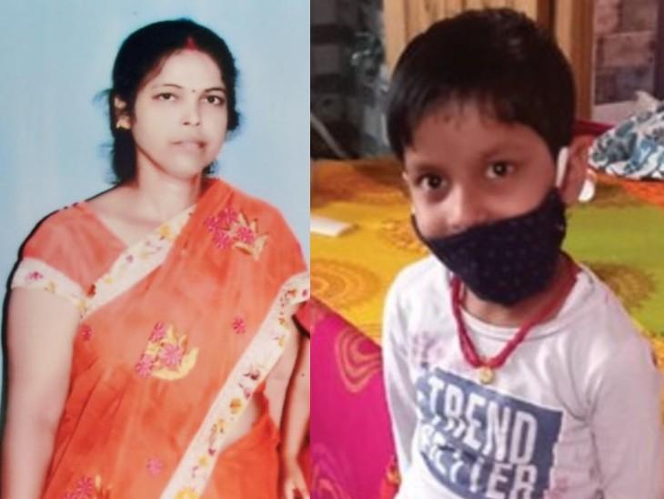 एक माह पहले पिता दुनिया छोड़ गए, तब मां नहीं रहती थी साथ, अब बेसहारा हुई 8 साल की राधा के लिए मां ने फैलाया आंचल|पटना,Patna - Dainik Bhaskar