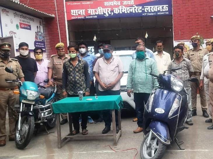 लखनऊ पुलिस ने 340 ग्राम कैलिफोर्नियम जब्त किया, 8 पकड़े गए; ये दुनिया की तीसरी सबसे महंगी धातु|लखनऊ,Lucknow - Dainik Bhaskar