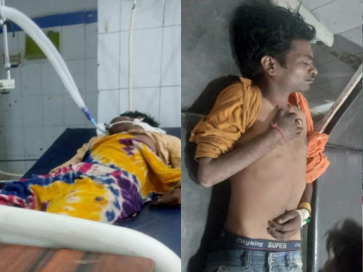 जमीन के लिए बहाया खून, बातचीत से नहीं सुलझा मामला, हमलावरों ने चलाई गोलियां, पिता-पुत्र समेत 3 घायल ग्वालियर,Gwalior - Dainik Bhaskar