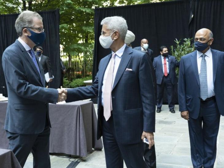 जयशंकर ने कहा- कोविड-19 के खिलाफ जंग में भारत और अमेरिका की मजबूत साझेदारी जरूरी|विदेश,International - Dainik Bhaskar