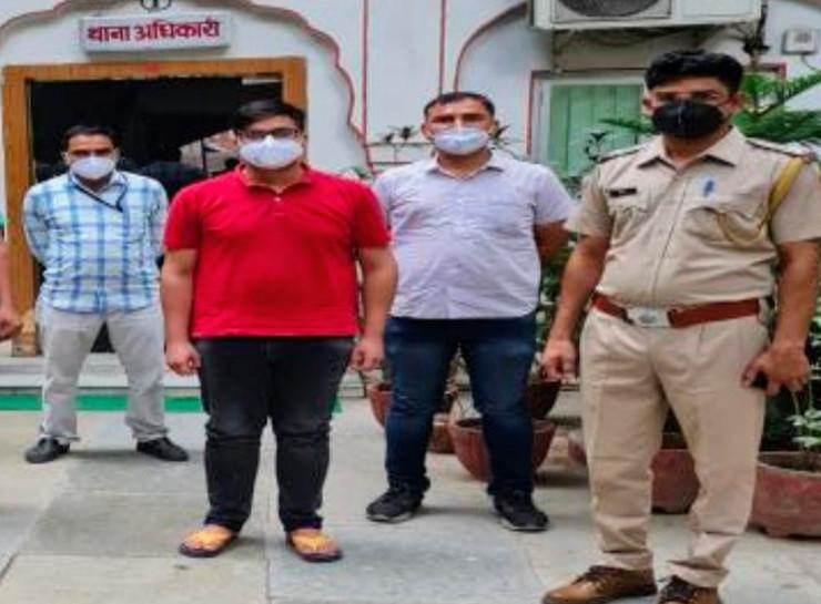 जयपुर में रेमडेसिविर इंजेक्शन की कालाबाजारी गैंग का सरगना निकला डॉक्टर, 1000 इंजेक्शन बेचे, बचने के लिए मोबाइल नंबर और लोकेशन बदलता रहा जयपुर,Jaipur - Dainik Bhaskar