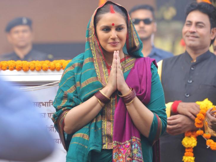 अनपढ़ और साधारण महिला के मुख्यमंत्री बनने की कहानी दिखाती है 'महारानी, सीरीज में हुमा कुरैशी का अब तक सबसे शानदार अभिनय|टीवी,TV - Dainik Bhaskar
