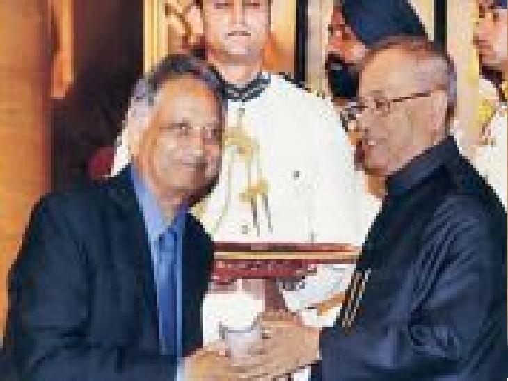 प्रसिद्ध न्यूरोलॉजिस्ट और पद्मश्री डॉ. अशोक पानगड़िया। - Dainik Bhaskar