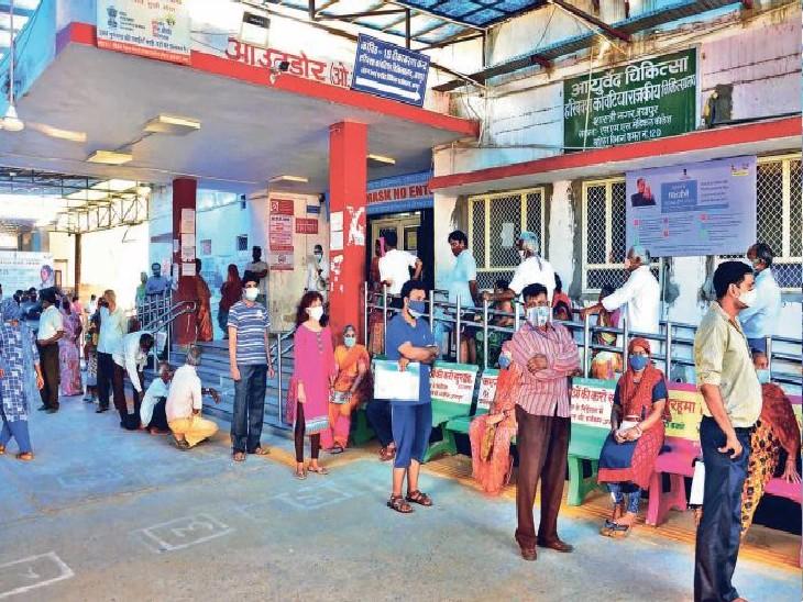 वैक्सीन वालों में कितने पॉजिटिव और डेथ क्यों? सरकार में इसकी कोई रिपोर्ट ही नहीं जयपुर,Jaipur - Dainik Bhaskar