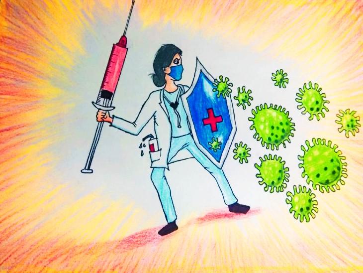 उदयपुर में कंट्रोल हो रहा कोरोना; संक्रमण दर घटकर पहुंची 5%, कम होने लगे एक्टिव केस|उदयपुर,Udaipur - Dainik Bhaskar