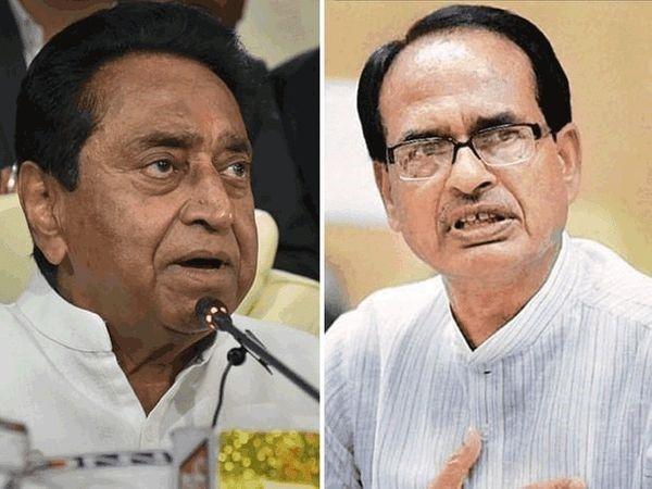 शिवराज ने कहा- प्रदेश में आग लगाना चाहती है कांग्रेस; गृह मंत्री बोले- कमलनाथ नया वैरिएंट जो मुर्दों से भी बात करता है|मध्य प्रदेश,Madhya Pradesh - Dainik Bhaskar
