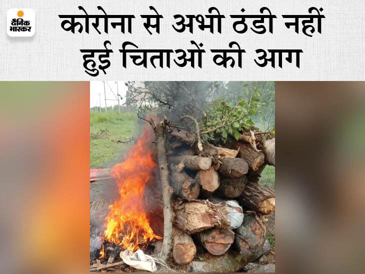 पश्चिम चंपारण में बेटे के अंतिम संस्कार के बाद पिता ने भी दम तोड़ा, BDO ने गांव में लगवाया कोविड जांच शिविर|मैनाटांड़,Mainatand - Dainik Bhaskar