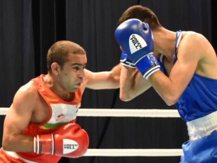 अमित पंघल और शिव थापा फाइनल में पहुंचे; विकाकृष्ण हुए चोटिल, बॉन्ज मेडल से होना पड़ा संतुष्ट स्पोर्ट्स,Sports - Dainik Bhaskar