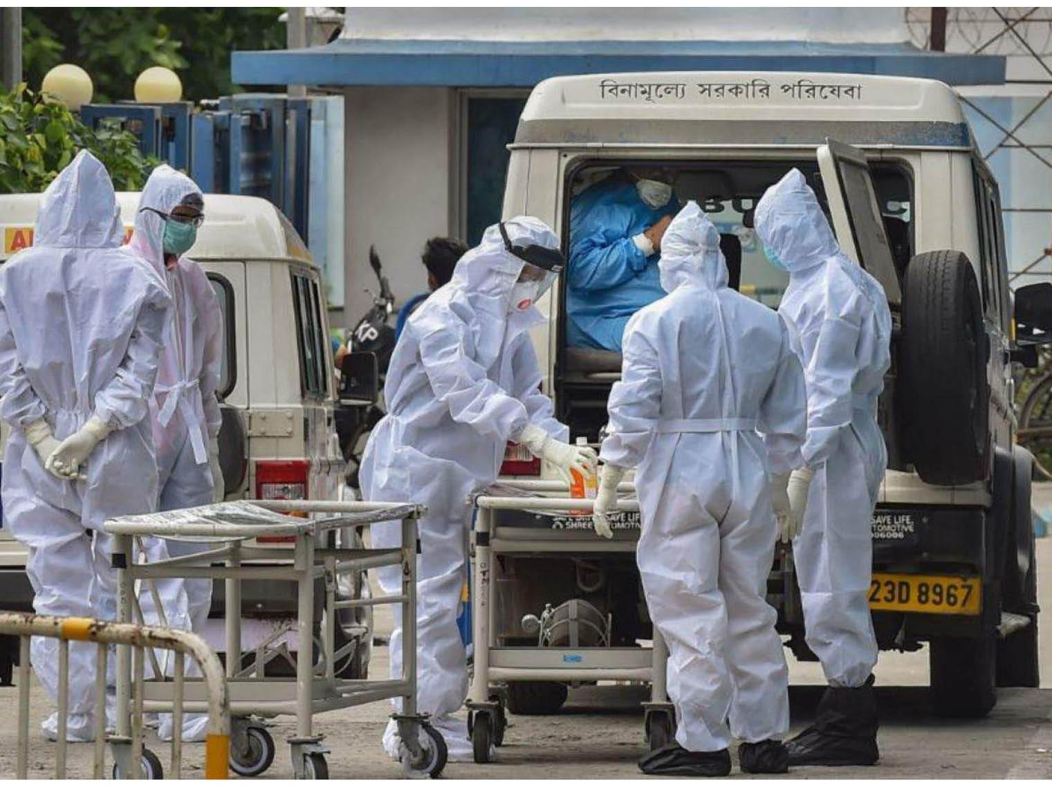 MP में 1 लाख देने के ऐलान के बाद मौत छिपाने का खेल; सरकारी अस्पताल में डेथ सर्टिफिकेट पर कोरोना दर्ज, प्राइवेट में कॉलम खाली|भोपाल,Bhopal - Dainik Bhaskar