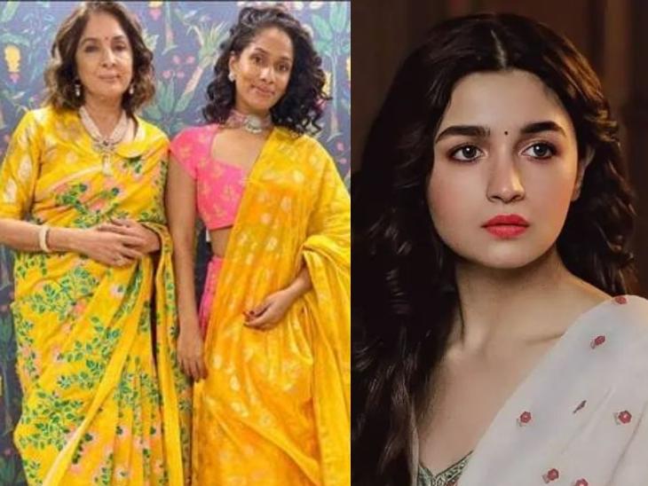 नीना गुप्ता और उनकी बेटी मसाबा के साथ 'मसाबा मसाबा 2' में नजर आएंगी आलिया भट्ट, जल्द शुरू होगी इस वेब सीरीज की शूटिंग बॉलीवुड,Bollywood - Dainik Bhaskar