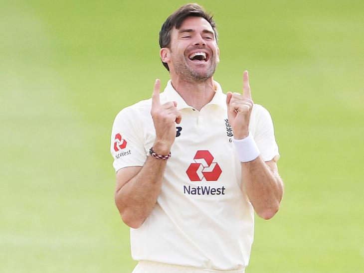 इंग्लिश तेज गेंदबाज एंडरसन ने कहा- 5 टेस्ट में अधिक खिलाड़ियों को रोटेट किया जा सकता है; कुक का रिकॉर्ड तोड़ेंगे जेम्स|क्रिकेट,Cricket - Dainik Bhaskar