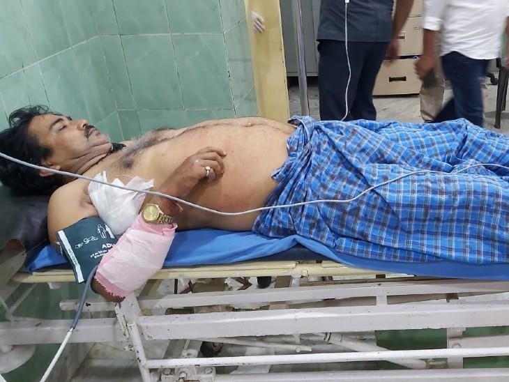 लॉकडाउन में फिर से खूनी वारदात, JDU नेता को घात लगाए अपराधियों ने मारी गोली, 3 महीने पहले भी हुआ था हमला|बिहार,Bihar - Dainik Bhaskar