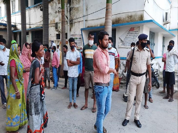 ससुराल जा रही युवती को ओवरटेक करके रोका, कार से खींचकर सिर में गोली मारी, फिर खुद को शूट किया; 4 दिन पहले हुई थी शादी|नालंदा,Nalanda - Dainik Bhaskar