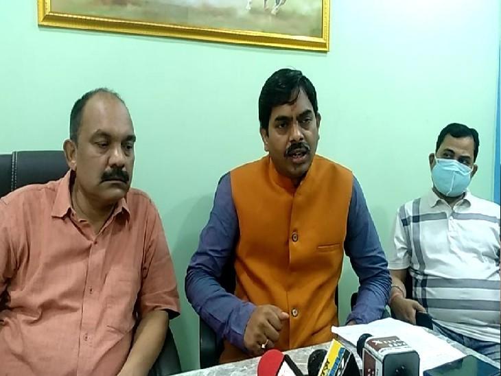 11 दिन बाद सामने आया हिंदू जागरण मंच, कहा- प्रशासन से पहले मदद के लिए पहुंचे हम, काम में फेल विधायक लगा रहे बेबुनियाद आरोप|बिहार,Bihar - Dainik Bhaskar