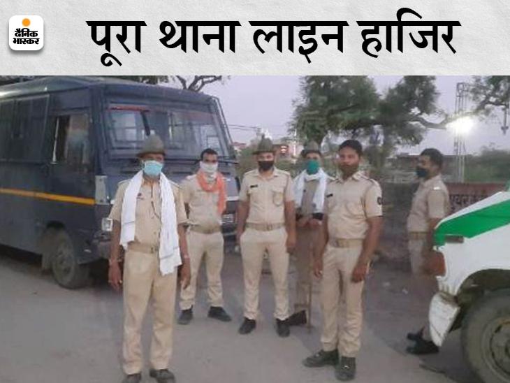 जमीन विवाद में थाने में की पिटाई,सिर में चोट आई, जयपुर ले जाते वक्त दम तोड़ा; SP ने माना हिरासत में हुई मौत|सवाई माधोपुर,Sawai Madhopur - Dainik Bhaskar