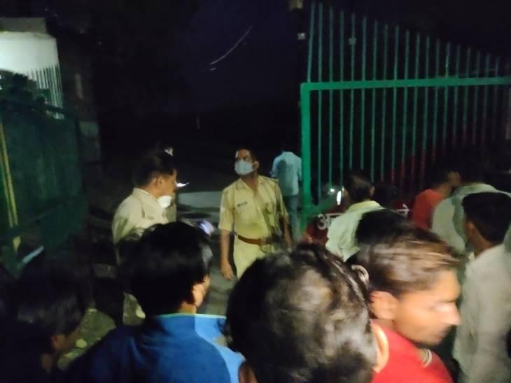 आगरा में 9 साल के बच्चे की गला रेतकर हत्या; कारणों का सुराग हाथ नहीं आगरा,Agra - Dainik Bhaskar