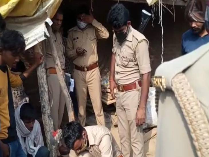 नशे की हालत में मां को पीटा तो युवक ने पिता की ईंट से कूचकर कर दी हत्या, परिवार वालों ने बताया हादसा|कानपुर,Kanpur - Dainik Bhaskar