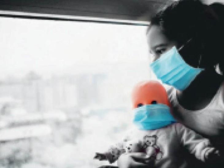 बच्चों में एमएसआईएस के लक्षण पाए गए - Dainik Bhaskar