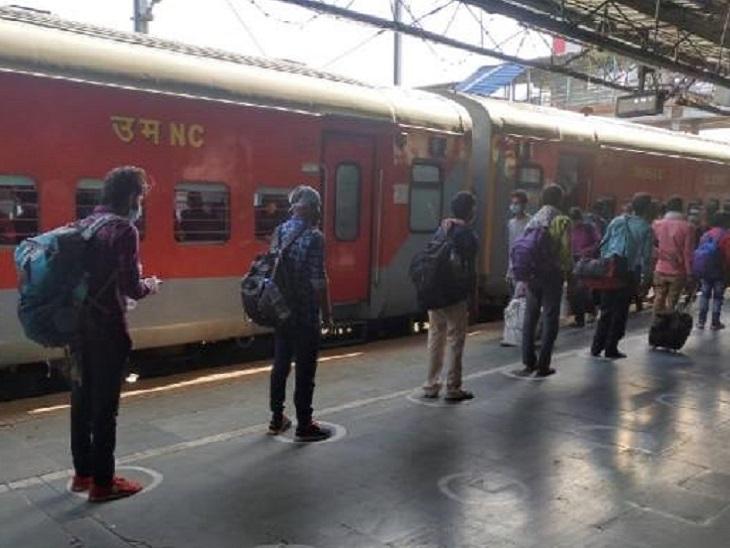 स्पेशल ट्रेनों के फेरों को तत्काल बढ़ाने का आदेश जारी कर दिया गया है। - Dainik Bhaskar
