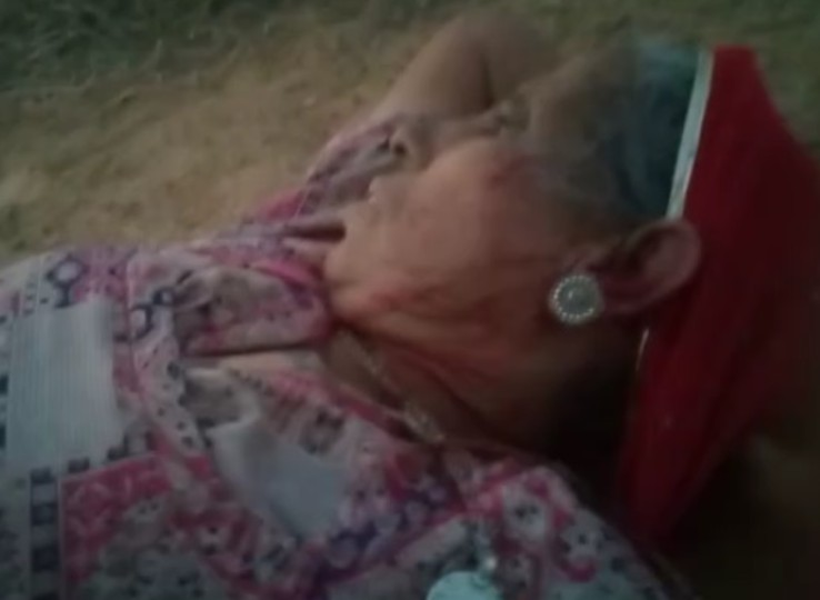 बेटे ने पत्नी और बच्चों के साथ मिलकर माता-पिता को लाठियों से पीट-पीट कर लहूलुहान किया, खेत में खून से सनी वृद्धा का वीडियो वायरल|नागौर,Nagaur - Dainik Bhaskar