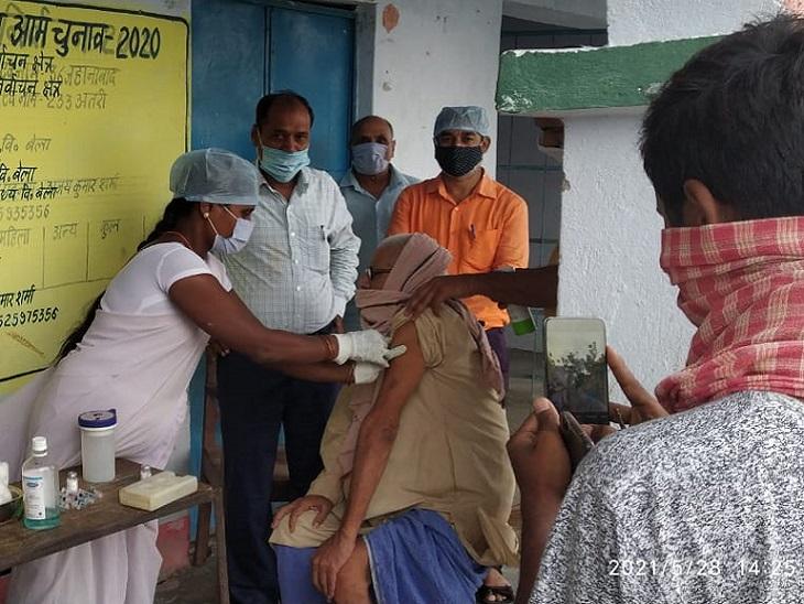 टीका एक्सप्रेस सोमवार से जिले के दूर-दराज के गांवों तक भी पहुंचेगा। - Dainik Bhaskar