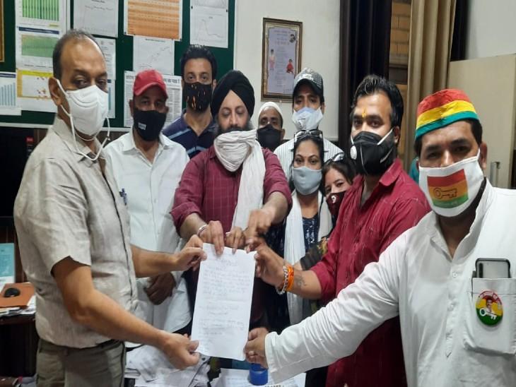 CMO ने बैठाई जांच, पूर्व कर्मचारी ने प्रबंधन पर लगाए थे ऑक्सीजन कम करने के आरोप|मेरठ,Meerut - Dainik Bhaskar