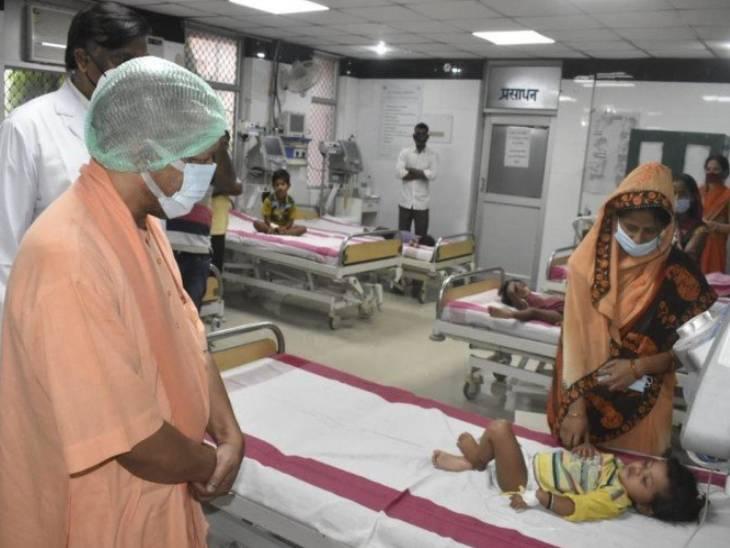 गोरखपुर में PICU के 50 बेड होंगे तैयार; 120 डॉक्टरों की टीम इंसेफेलाइटिस की तर्ज पर करेगी मुकाबला|गोरखपुर,Gorakhpur - Dainik Bhaskar