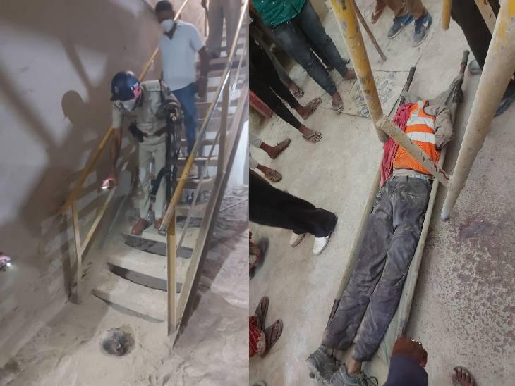 सतना की बिरला सीमेंट की सगमनिया माइंस में श्रमिक की मौत, सफाई करते समय बेल्ट में फंसा सिर, धड़ से हुआ अलग सतना,Satna - Dainik Bhaskar
