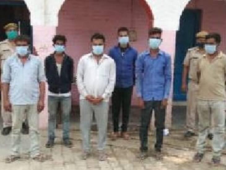 प्रयागराज में छह युवक पहुंचे जेल; दो साल पहले असलहों के साथ फोटो खिंचाकर सोशल मीडिया पर किया था अपलोड प्रयागराज (इलाहाबाद),Prayagraj (Allahabad) - Dainik Bhaskar