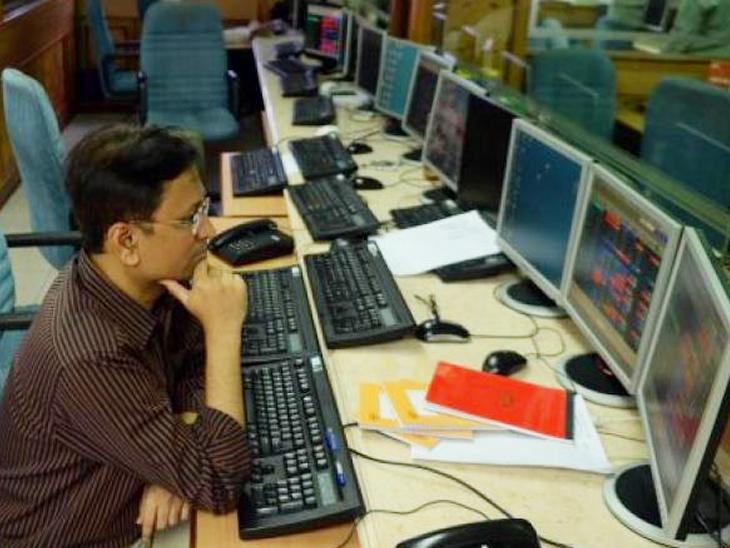 सेंसेक्स में 2.5 पॉइंट और निफ्टी में 8 पॉइंट की गिरावट; मेटल और रियल्टी शेयरों में जोरदार बिकवाली|बिजनेस,Business - Dainik Bhaskar