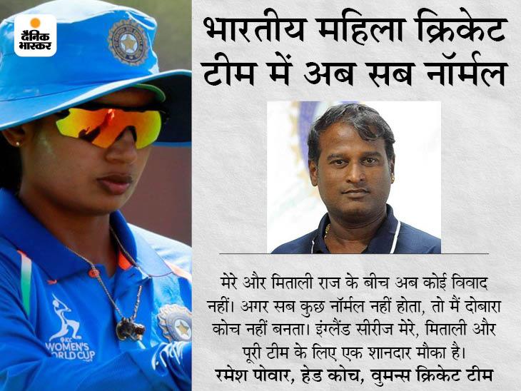 भारतीय महिला क्रिकेट टीम की कप्तान ने कहा- 2018 वर्ल्ड कप के दौरान जो विवाद हुआ, उसे भूलकर 2021 पर फोकस करें|क्रिकेट,Cricket - Dainik Bhaskar