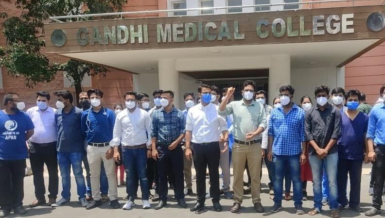 मेडिकल टीचर्स एसोसिएशन आया जूनियर डॉक्टर्स के समर्थन में, चिकित्सा शिक्षा मंत्री को पत्र लिखकर मांगों को मानने की अपील|भोपाल,Bhopal - Dainik Bhaskar