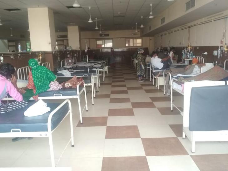 कोविड डेडिकेटेड अस्पतालों में मनोरोग और अन्य विशेषज्ञ डॉक्टर्स की टीम करेगी काउंसलिंग, मल्टीपल गंभीर बीमारी वाले मरीजों के लिए रिजर्व होंगे बेड्स|जयपुर,Jaipur - Dainik Bhaskar