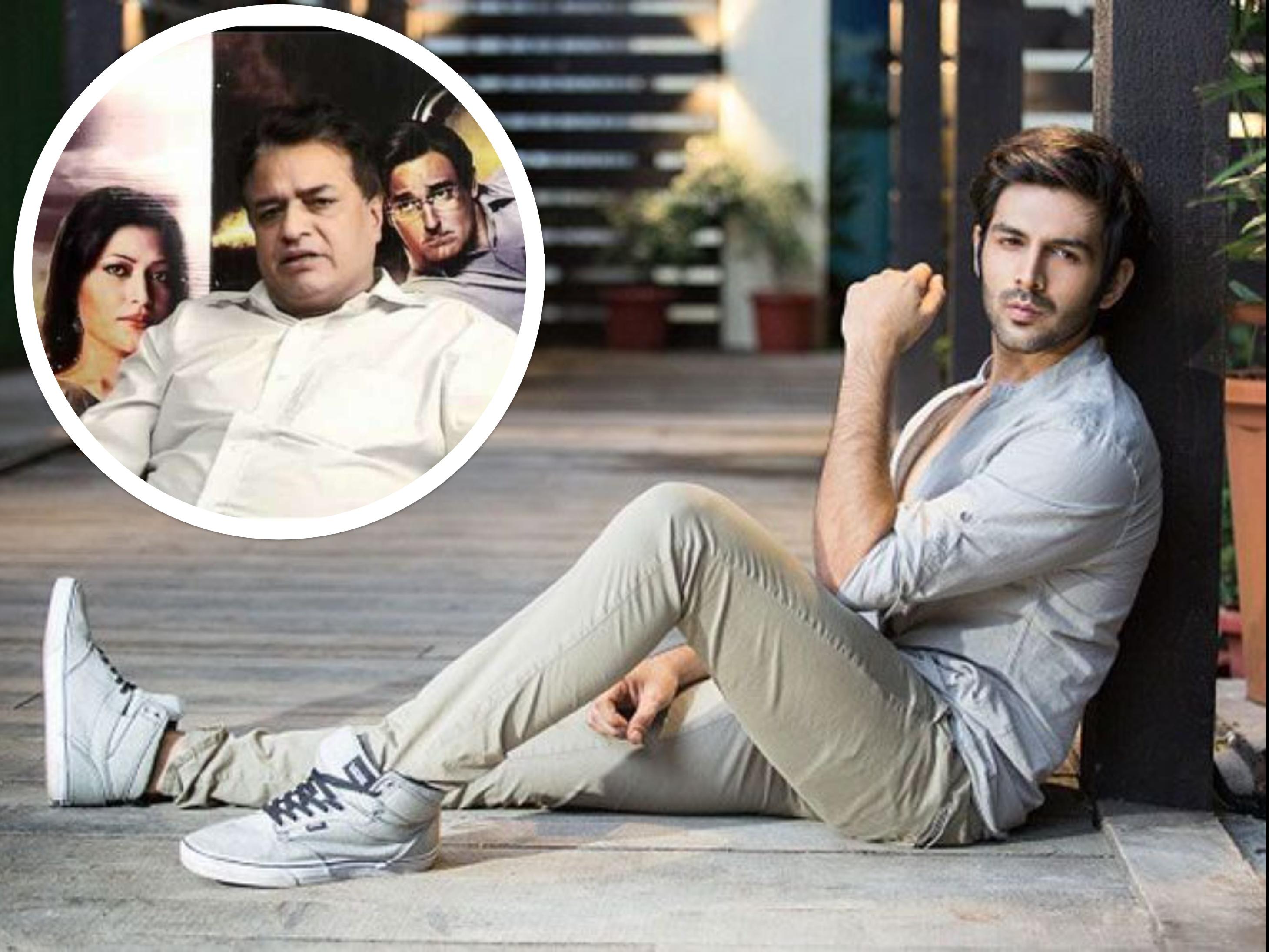 कार्तिक आर्यनके बचाव में आए कुमार मंगत पाठक बोले-कभी स्क्रिप्ट से छेड़छाड़ नहीं की,आज भी पांव छूने के बाद बात करता है|बॉलीवुड,Bollywood - Dainik Bhaskar