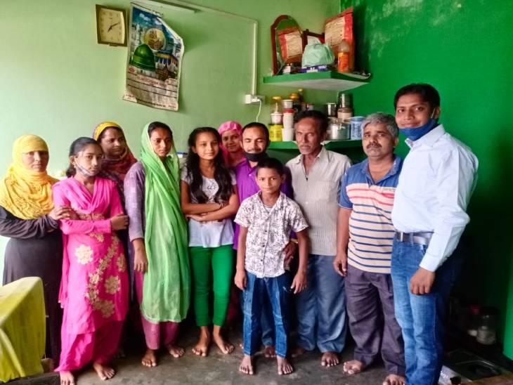 प्रयागराज मेंमां के डांटने पर 11 साल की उम्र में घर छोड़कर चली गई थी शाहीन, 6 साल बाद लौटी|प्रयागराज,Prayagraj - Dainik Bhaskar