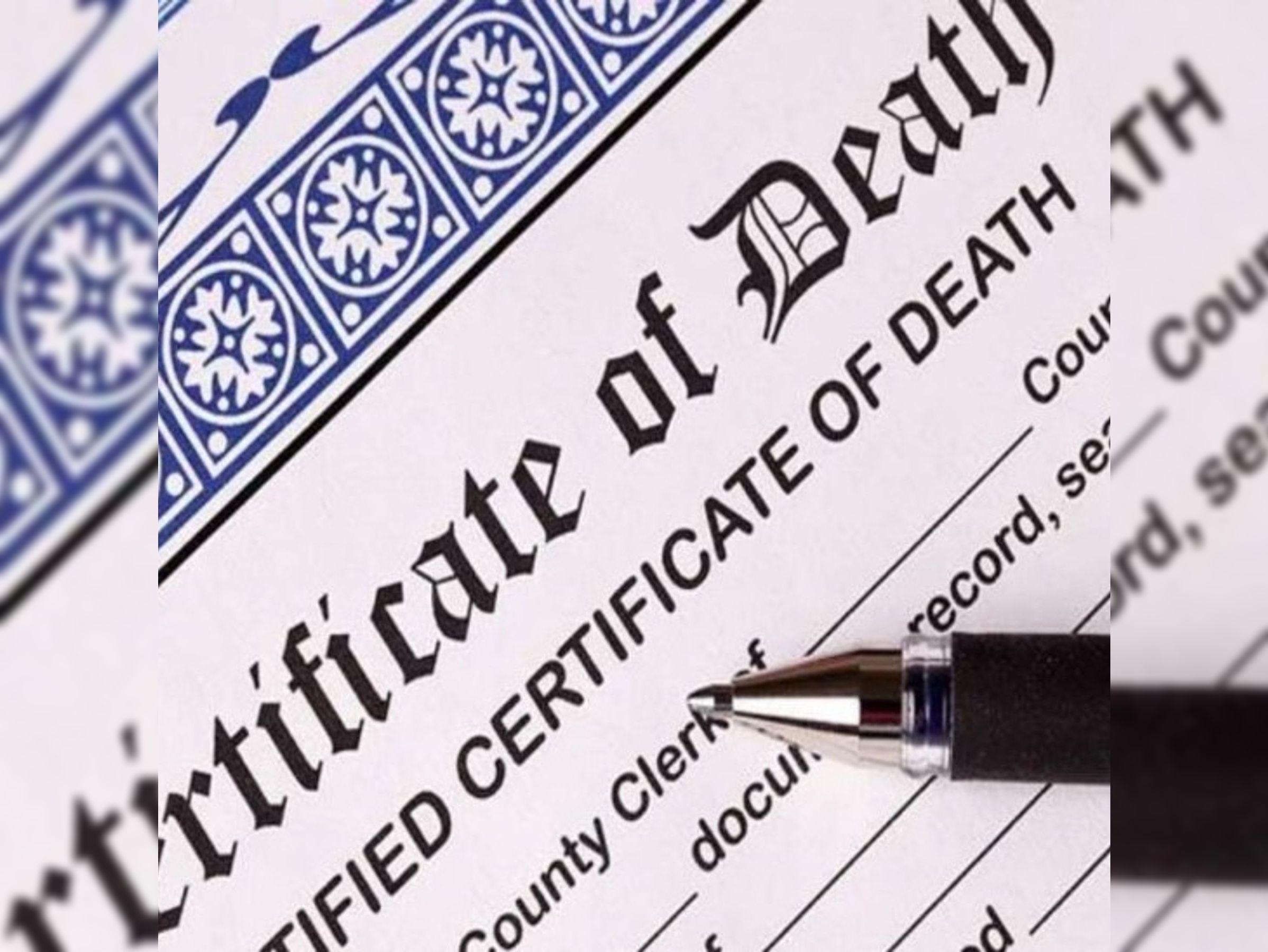 मृत्यु प्रमाण पत्र पर अब नहीं लिखा जाएगा माैत का कारण, 1 लाख देने की घोषणा के 12 वें दिन सरकार का नया फरमान|ग्वालियर,Gwalior - Dainik Bhaskar