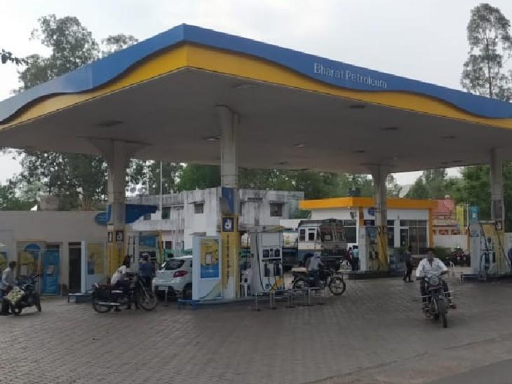 पेट्रोल -डीजल के दाम बढ़ने से एक वर्ष में दोगुना हो गया ट्रांसपोर्ट का भाड़ा, व्यापारियों के साथ आम जनता पर बढ़ा महंगाई का बोझ|गुना,Guna - Dainik Bhaskar