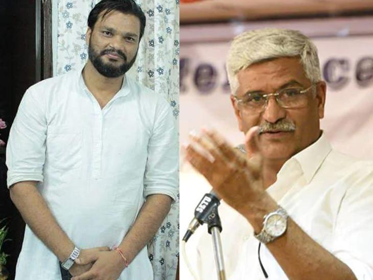 गजेंद्र सिंह शेखावत की FIR पर गहलोत के OSD के खिलाफ कार्रवाई पर 6 अगस्त तक रोक, दिल्ली और राजस्थान पुलिस से स्टेटस रिपोर्ट मांगी|जयपुर,Jaipur - Dainik Bhaskar