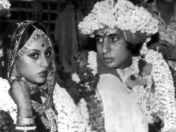 अमिताभ बच्चन को लंबू कहकर चिढ़ाती थीं जया की सहेलियां, हरिवंश राय बच्चन की एक शर्त के लिए करनी पड़ गई थी शादी बॉलीवुड,Bollywood - Dainik Bhaskar