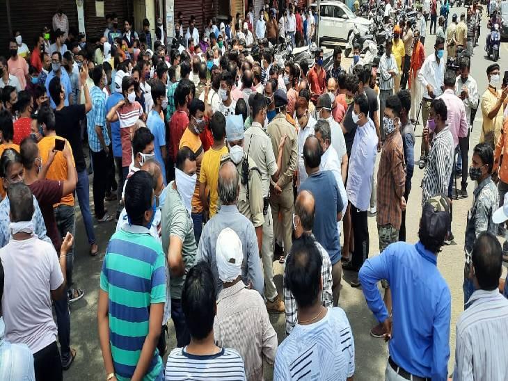 अब सप्ताह में तीन दिन खुल सकेंगी सभी तरह की दुकानें, फुहारा और सदर में व्यापािरयोें के विरोध के बाद संशोधित हुआ आदेश|जबलपुर,Jabalpur - Dainik Bhaskar