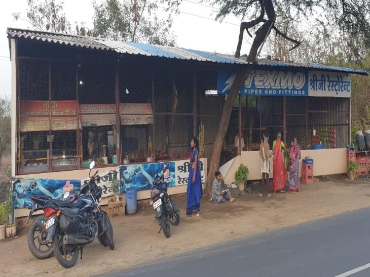 इंदौर में टीआई पर कुल्हाड़ी लेकर मारने दौड़े, पटवारी को भी पीटा; सतर्कता से बची जान, आरोपी फरार|इंदौर,Indore - Dainik Bhaskar