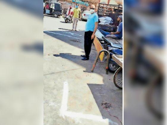 जवानों को नहीं पता राइट-लेफ्ट, टीआई ने कहा-दुकानदारों ने सही खोलीं दुकानें|रतलाम,Ratlam - Dainik Bhaskar